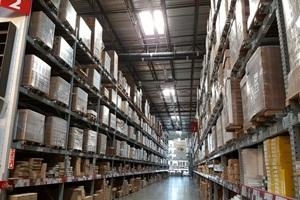 armazenagem de materiais logística