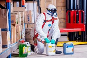 armazenagem de produtos perigosos
