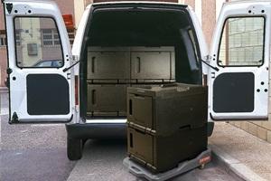 transporte de alimentos preparados