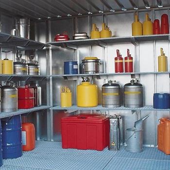 armazenamento de produtos perigosos